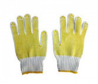 Găng tay sợi kim 7 chấm hạt nhựa 60 gam