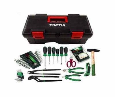 Hộp đựng dụng cụ xách tay 3 ngăn bao gồm 31 chi tiết Toptul-GCAZ0025
