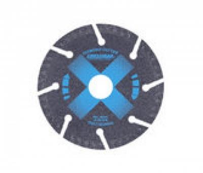 Lưỡi cắt gạch khô ướt 100x1.8x20mm Crossman 55-410
