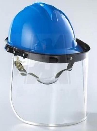 Nón Bảo Hộ Lao Động kết hợp kính che mặt