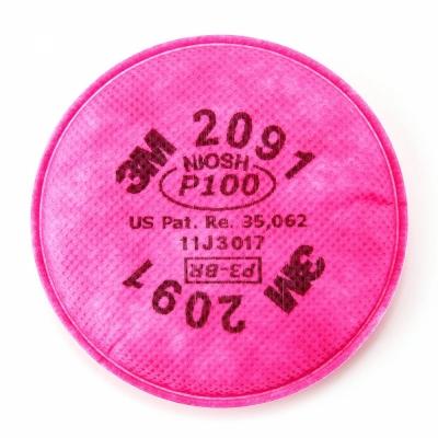 Phin lọc 3M 2091 lọc bụi dầu, bụi không dầu, hơi hóa chất