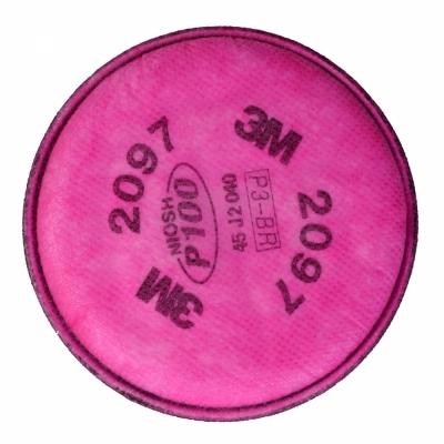 Phin lọc cho mặt nạ 3M 2097 lọc bụi và hơi hữu cơ