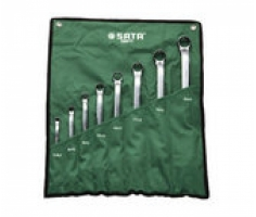 Bộ cờ lê 2 đầu tròng 8 chiếc 5.5x7 - 24x27 mm Sata 08011