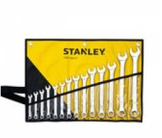 Bộ cờ lê đầu tròng, đầu mở 14 chiếc 8-24mm Stanley STMT73647