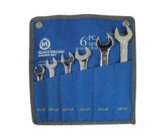 Bộ cờ lê hai đầu mở 6 cái 8x10-19x22mm C-Mart CT0003C