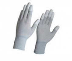 Găng tay phủ PU trắng chống tĩnh điện
