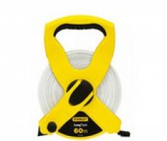 Thước dây sợi thủy tinh, hộp nhựa ABS 200ft/60m Stanley 34-795