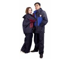Quần áo mưa 2 lớp