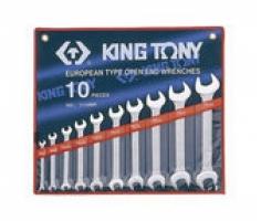 Bộ cờ lê 2 đầu mở 10 chiếc 6x7-25x28mm Kingtony 1110MR