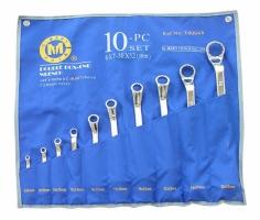 Bộ cờ lê 2 đầu tròng 10 chiếc 6x7-30x32mm C-Mart CT0004A