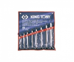 Bộ cờ lê 2 đầu tròng 8 chiếc 6x7 - 21x23 mm Kingtony 1708MR