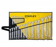 Bộ cờ lê đầu tròng, đầu mở 23 chiếc 6-32mm Stanley STMT33650