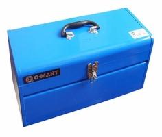 Thùng đồ nghề 2 ngăn bằng thép C-Mart CL0042-17