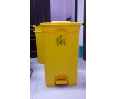 Thùng rác nhựa gia đình có đạp chân UNI-P45Y