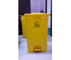 Thùng rác nhựa gia đình có đạp chân UNI-P87Y