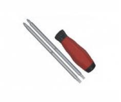 tua vít 2 đầu cán đỏ 4x150mm Crossman 46-505